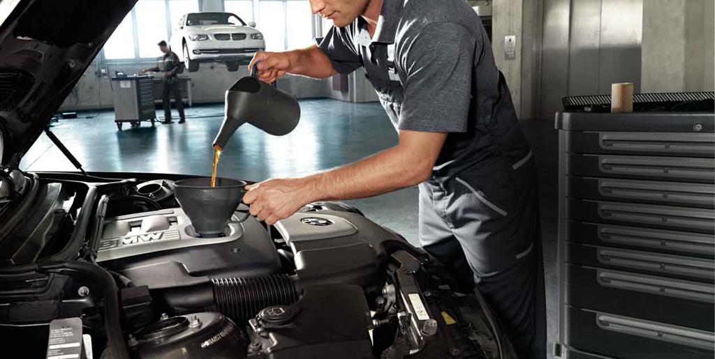 Výměna oleje BMW